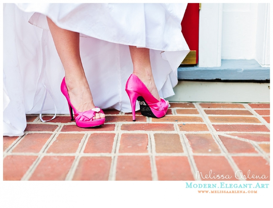 Pink Wedding Dress Shoes : Some like it hot pink wedding shoes expat bride