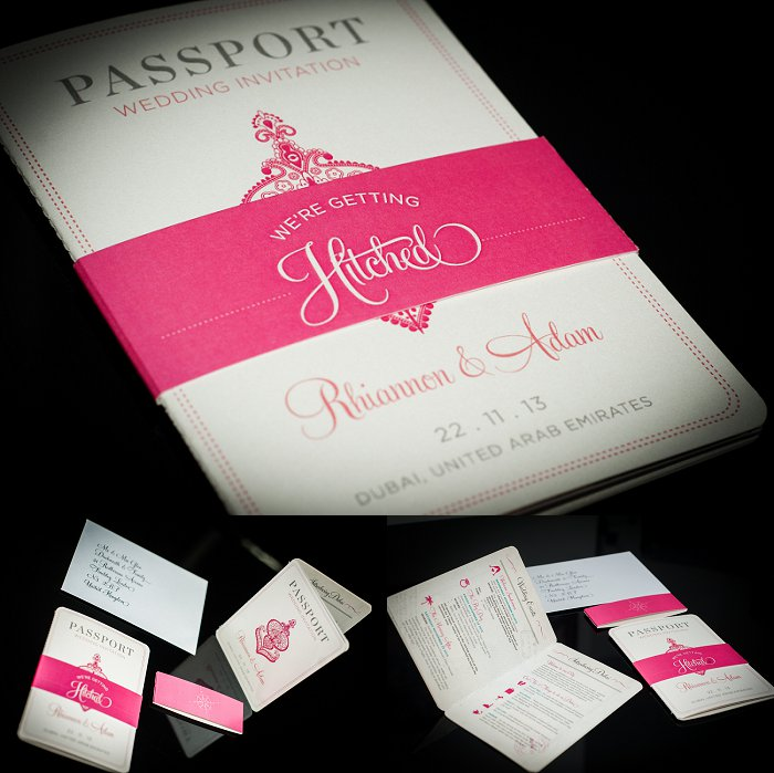 My passport wedding Invites are here! YAY! - Weddingbee